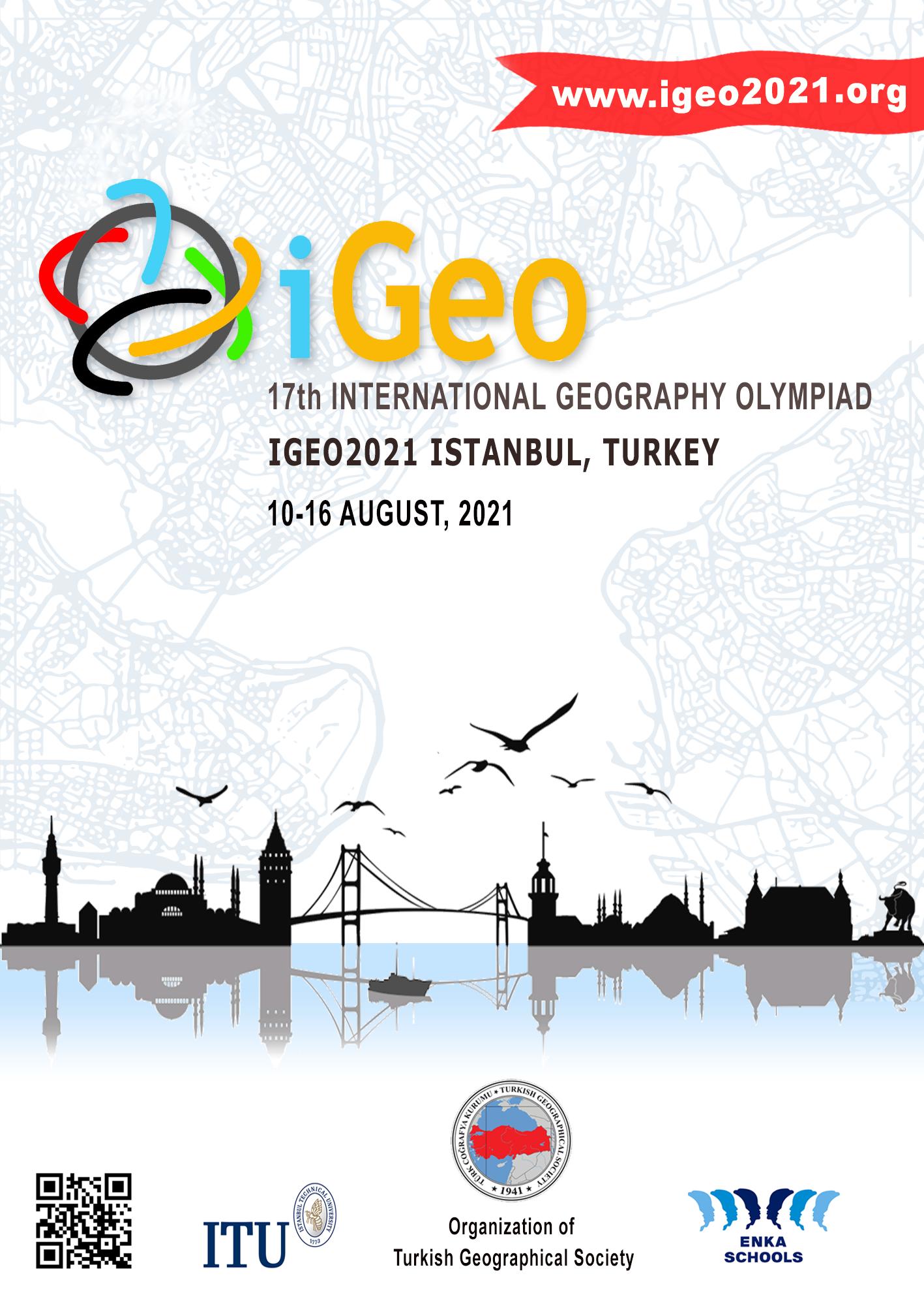 17. International Geography Olympiad-iGeo 2020 afişi
